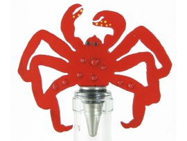 Crab Wine Stopper