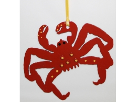 Christmas Ornament, Crab, crabs, Alaska, Water