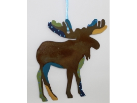 Moose, Ornament, Alaska, Christmas