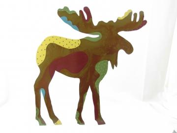 "Painted Moose 8"" or 11"""