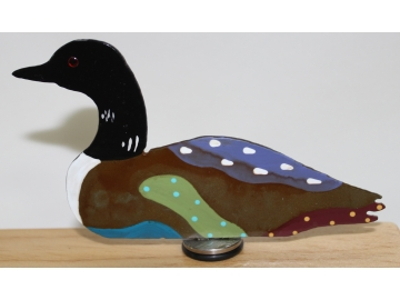 Loon Wine Stopper
