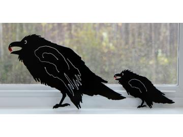 """Raven w/berry 12"""""""